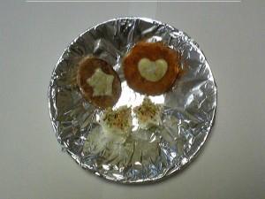 ハート型と星形のお弁当メニュー