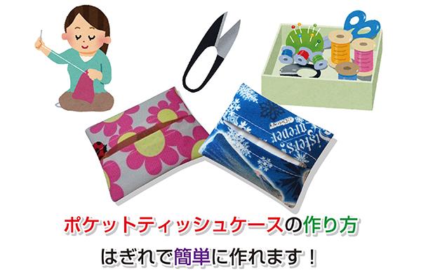 Pocket tissue case Eye-catching image