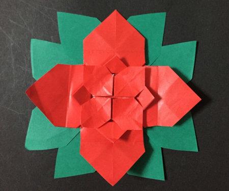 poinsetia.origami.36