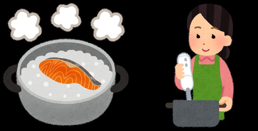 離乳食で鮭