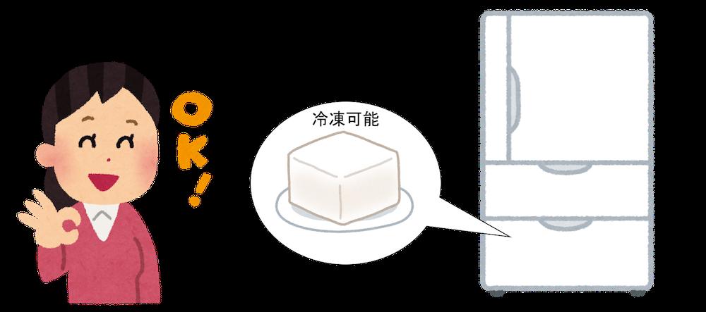 豆腐を冷凍