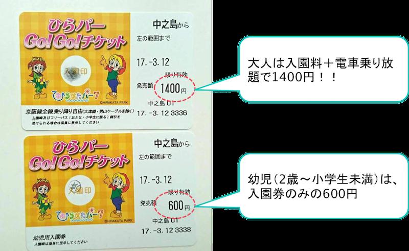 hirakata-park gogo ticket