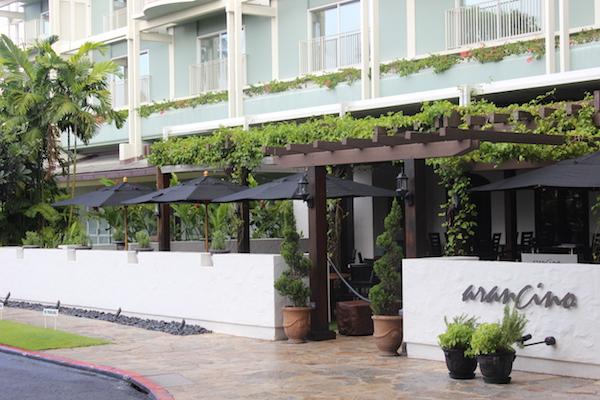 kahala hotel resort arancino