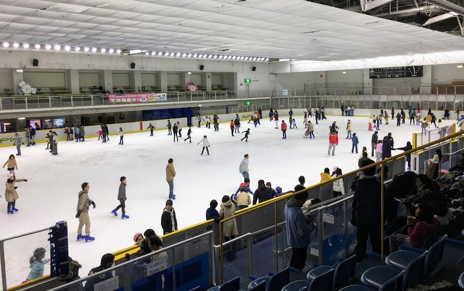 パピオアイスアリーナのスケートリンク