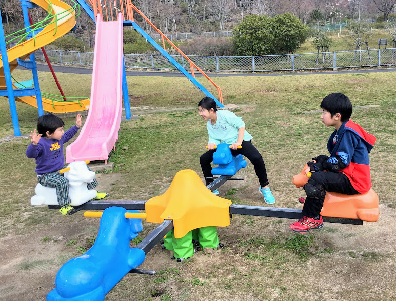 えぼしスポーツの里の遊具3