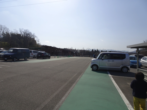 ハーベストの丘の駐車場の写真