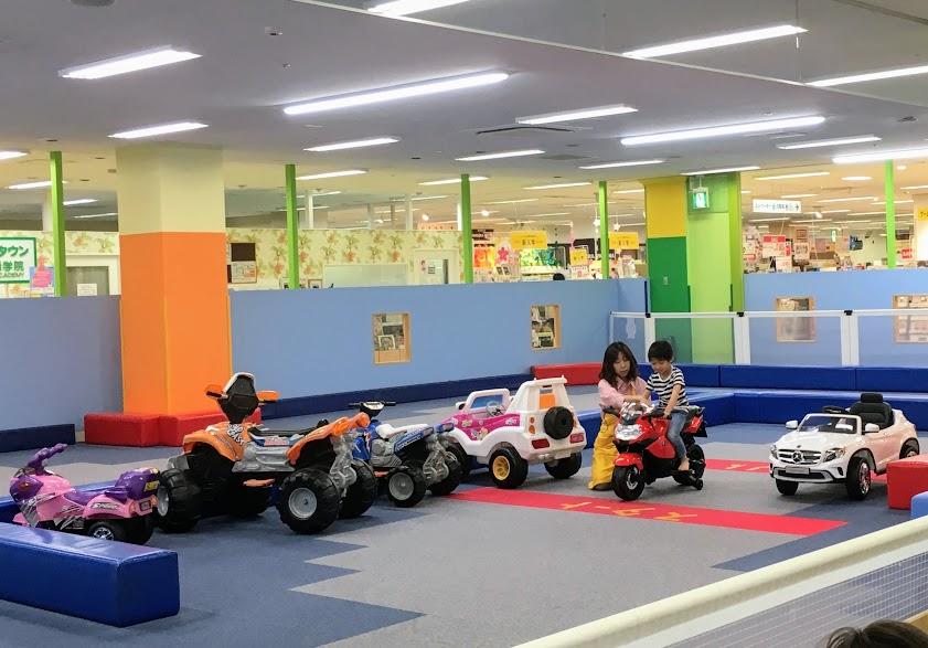 ファンタジーキッズリゾート福岡のサーキット