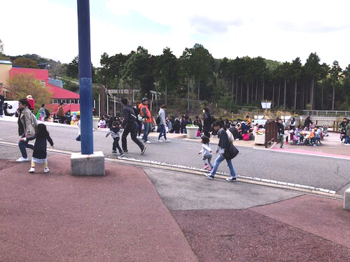 関西サイクルスポーツセンターの混雑具合の写真