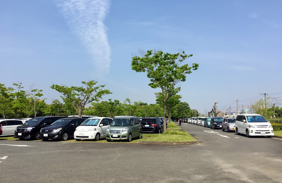 吉野ヶ里歴史公園の西口駐車場
