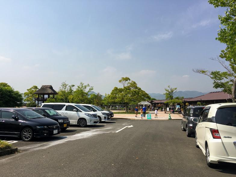 吉野ヶ里歴史公園西口駐車場