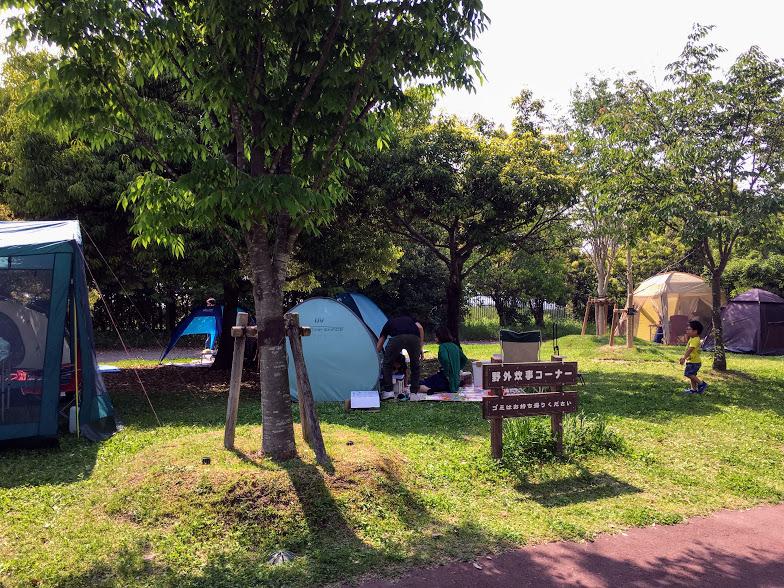 吉野ヶ里歴史公園の野外炊飯コーナー