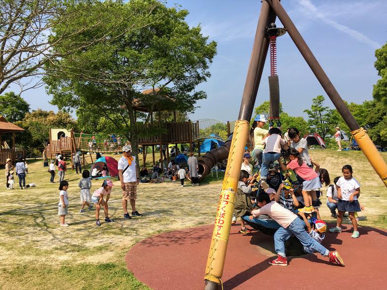 吉野ヶ里歴史公園の遊具2