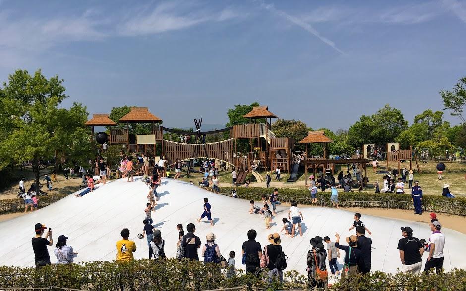 吉野ヶ里歴史公園の遊びの原