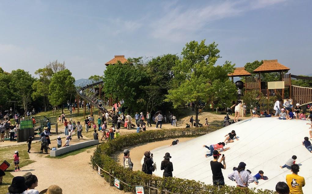 吉野ヶ里歴史公園遊び場