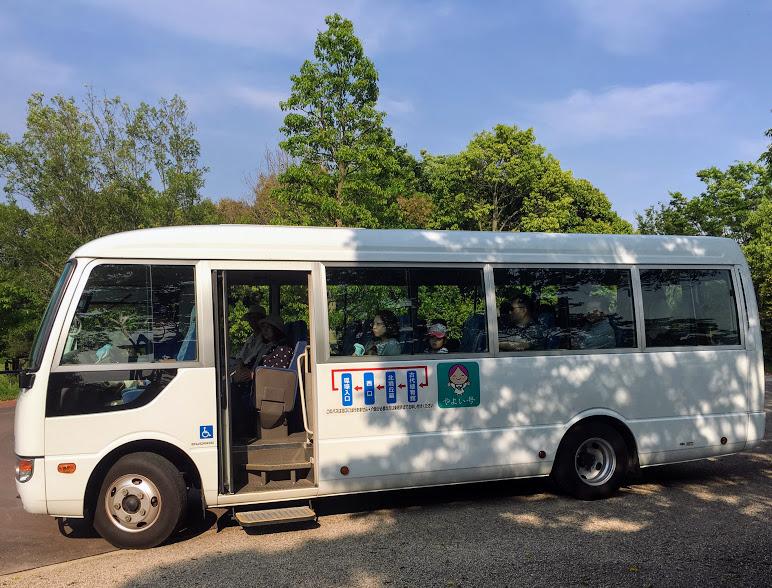 吉野ヶ里歴史公園の園内バス