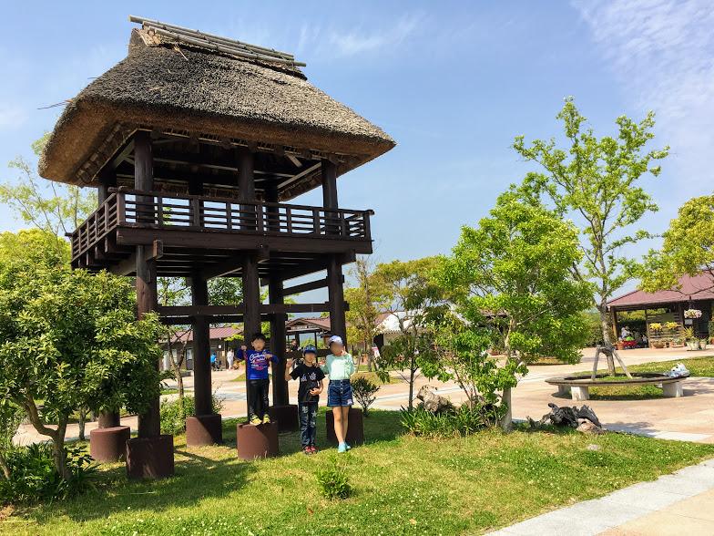 吉野ヶ里歴史公園西口付近