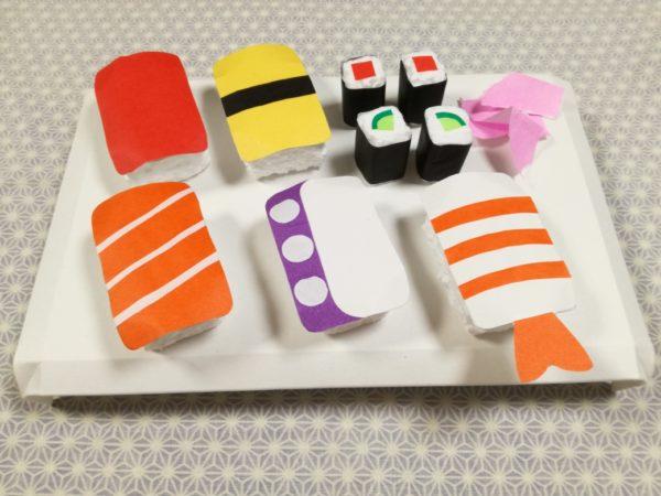 お店屋さんごっこ お寿司 作り方 マグネット