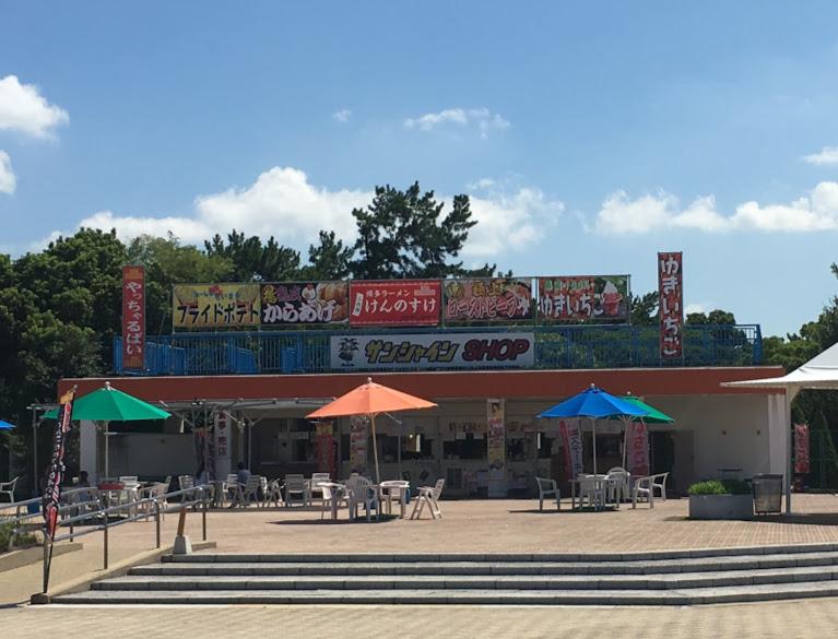 サンシャインプールのレストラン③
