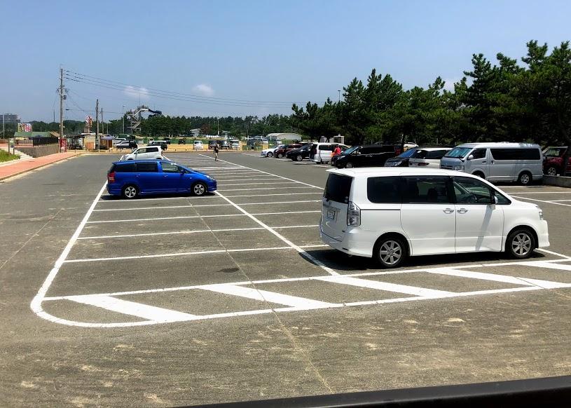 芦屋海水浴場駐車場