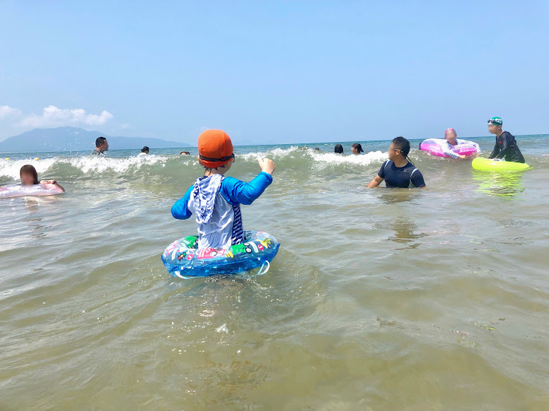 芦屋海水浴場②