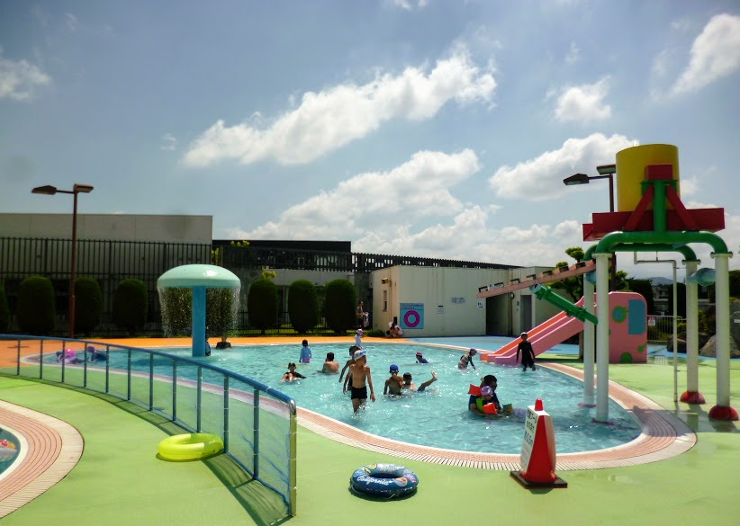 大宰府市民プールの子供用プール