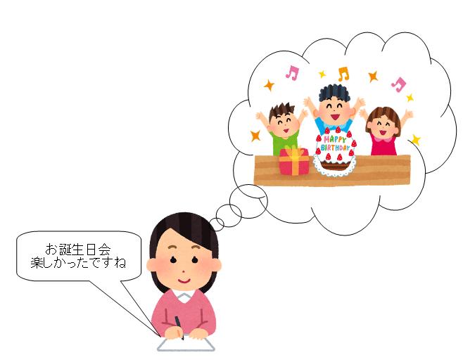幼稚園 ママ友 年賀状 思い出