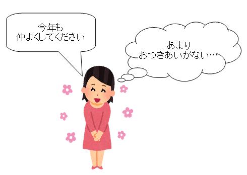 幼稚園 ママ友 年賀状 挨拶