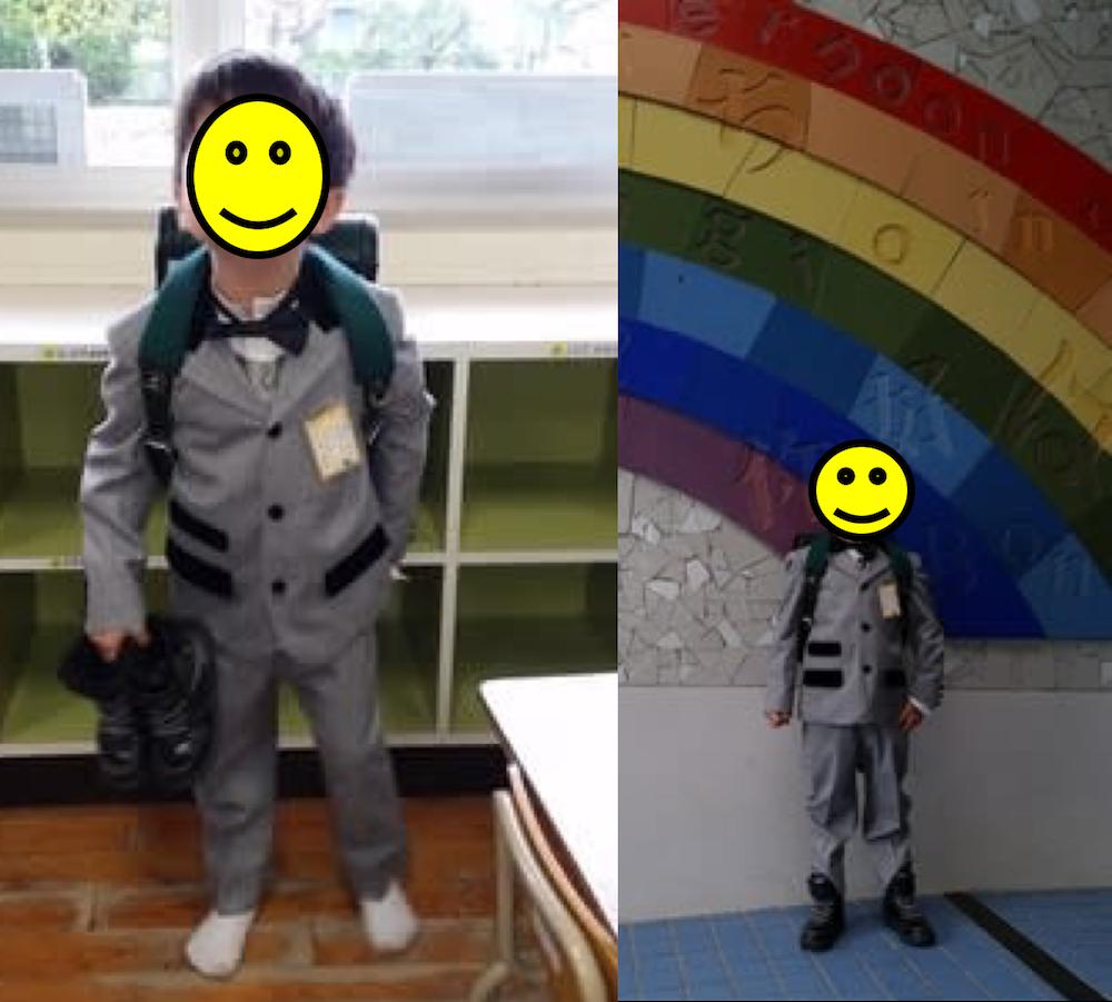 入学式のランドセル