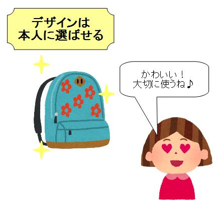 小学生 女の子 リュック デザイン 好み
