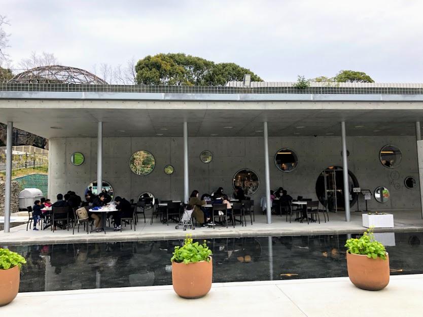 福岡市動物園の新レストランテラス