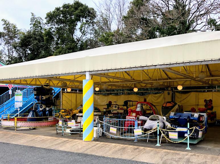 福岡市動物園の乗り物ゾーン