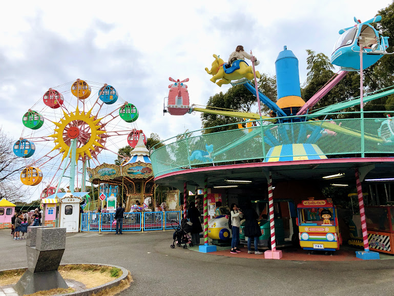福岡市動物園の遊戯施設