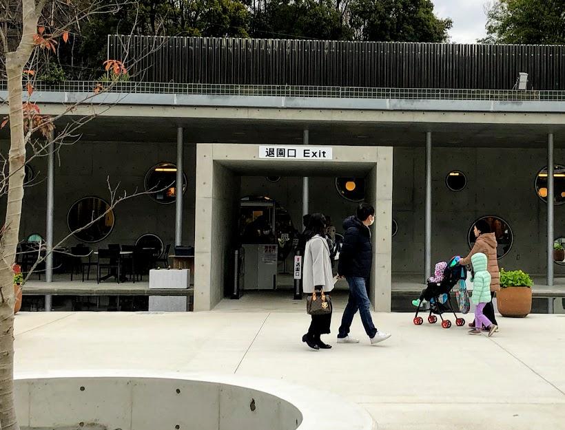 福岡市動物園の退園口