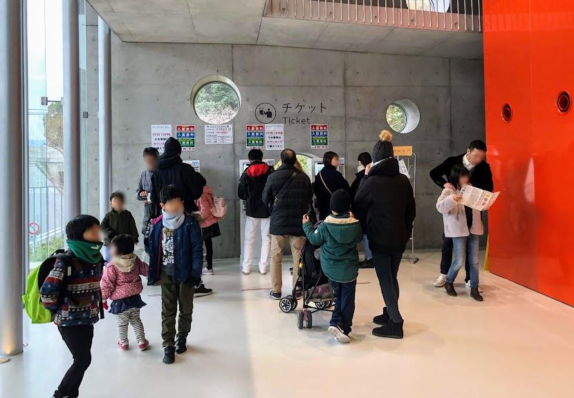 福岡市動物園のチケット売り場